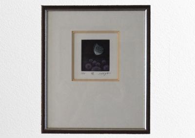 Manière noire, avec/sans cadre 10x10cm/22x26cm